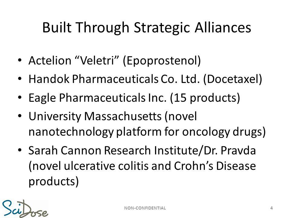 Built Through Strategic Alliances
