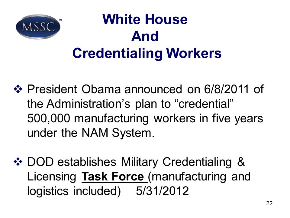 Credentialing Workers
