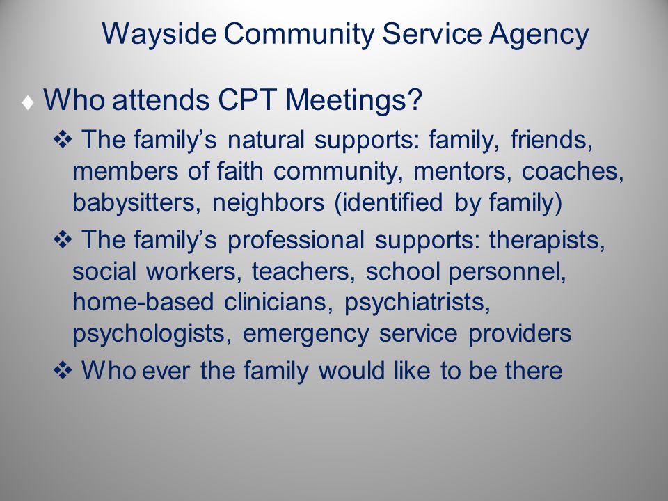 Wayside Community Service Agency