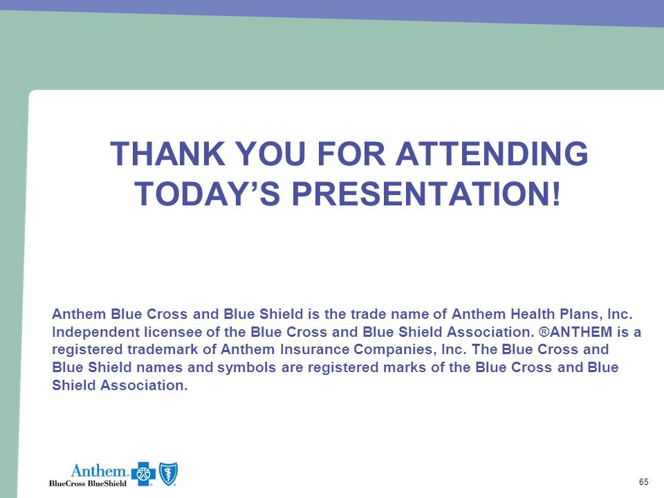 THANK YOU FOR ATTENDING TODAY'S PRESENTATION!