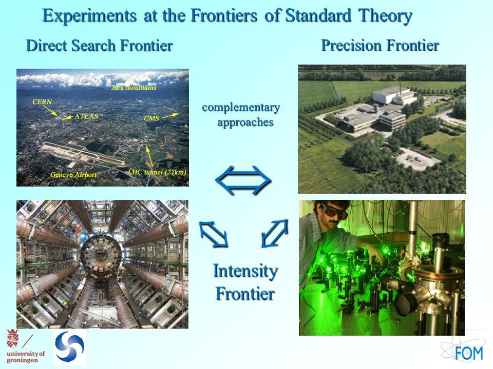   Experiments at the Frontiers of Standard Theory Frontier