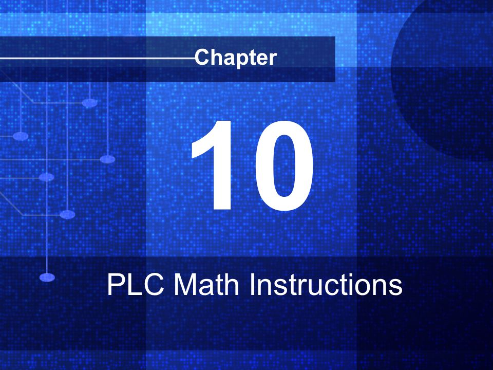 10 PLC Math Instructions