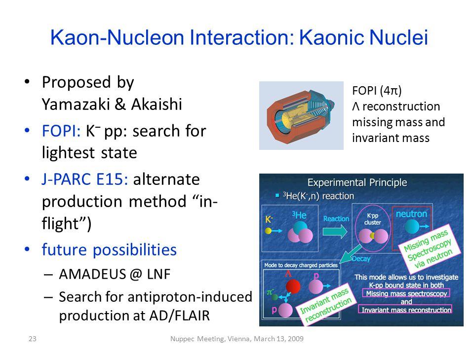 Kaon-Nucleon Interaction: Kaonic Nuclei