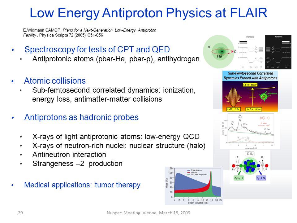 Low Energy Antiproton Physics at FLAIR