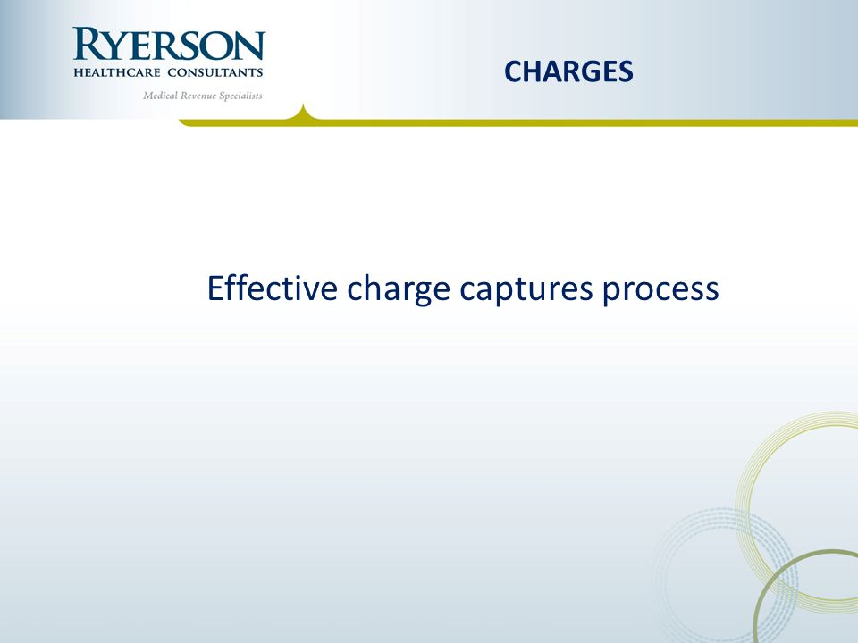 Effective charge captures process