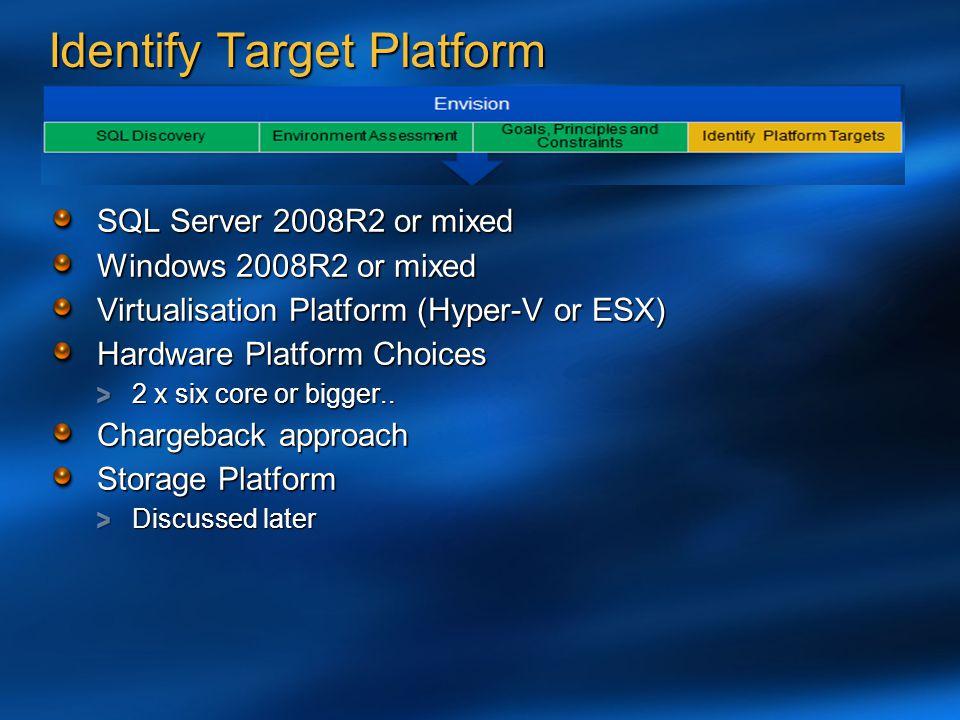 Identify Target Platform