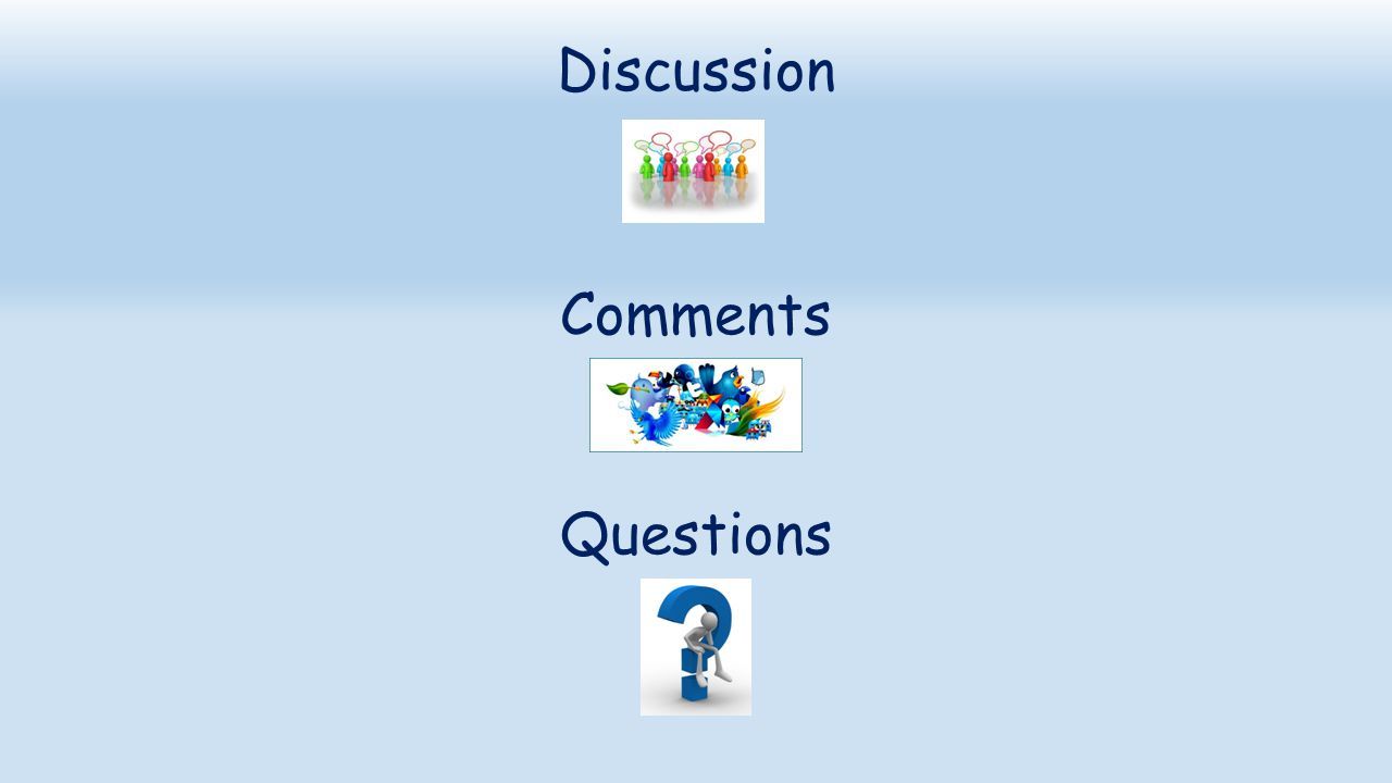 Discussion Comments Questions