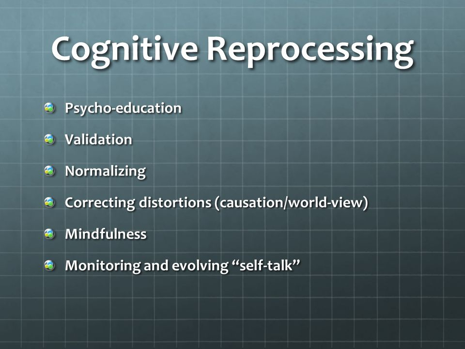 Cognitive Reprocessing