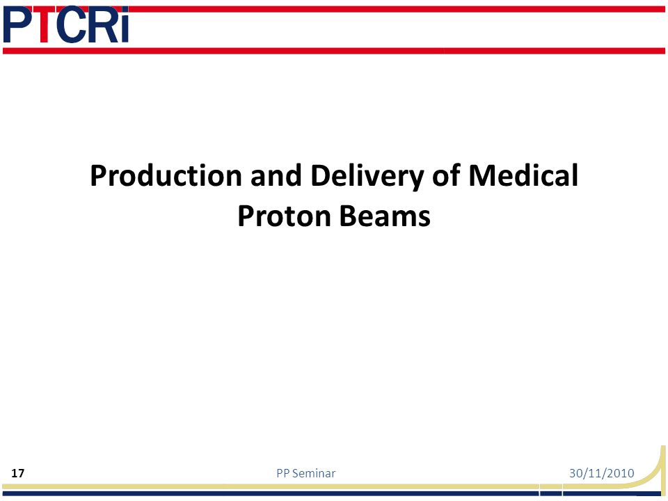 Production and Delivery of Medical Proton Beams
