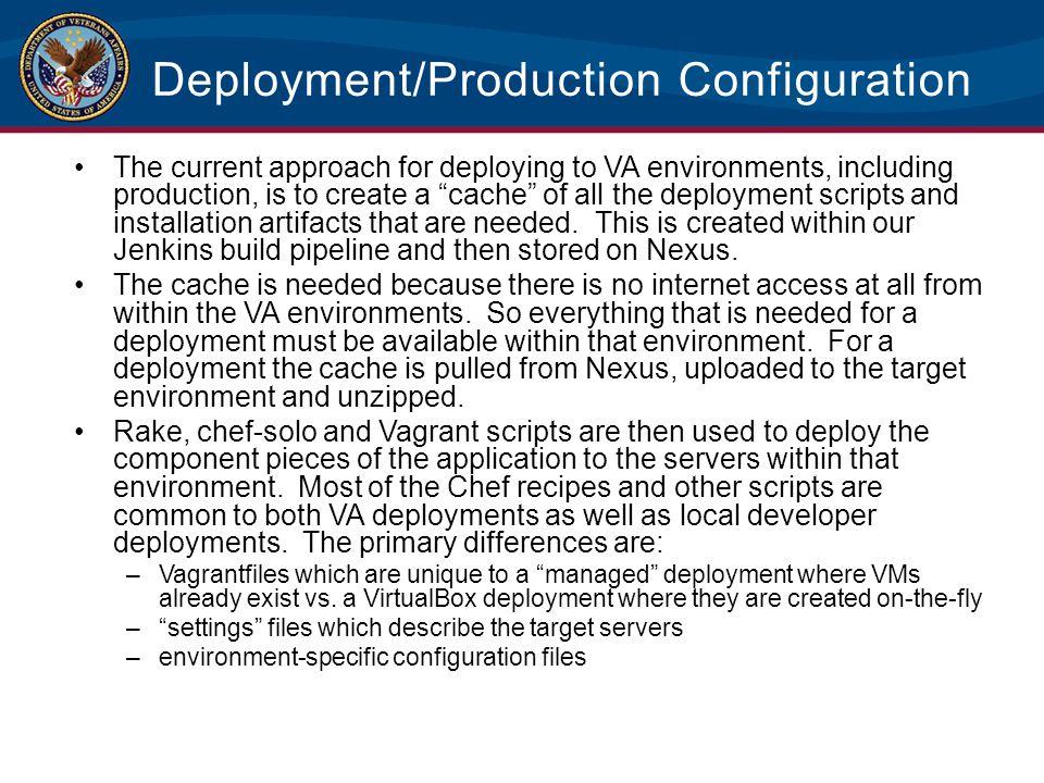 Deployment/Production Configuration