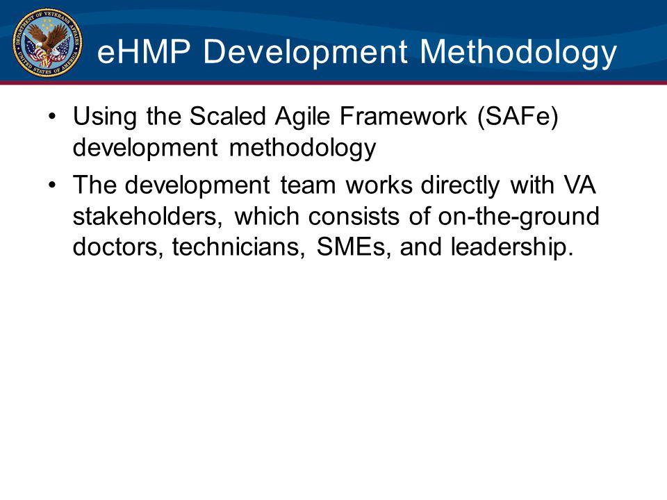eHMP Development Methodology