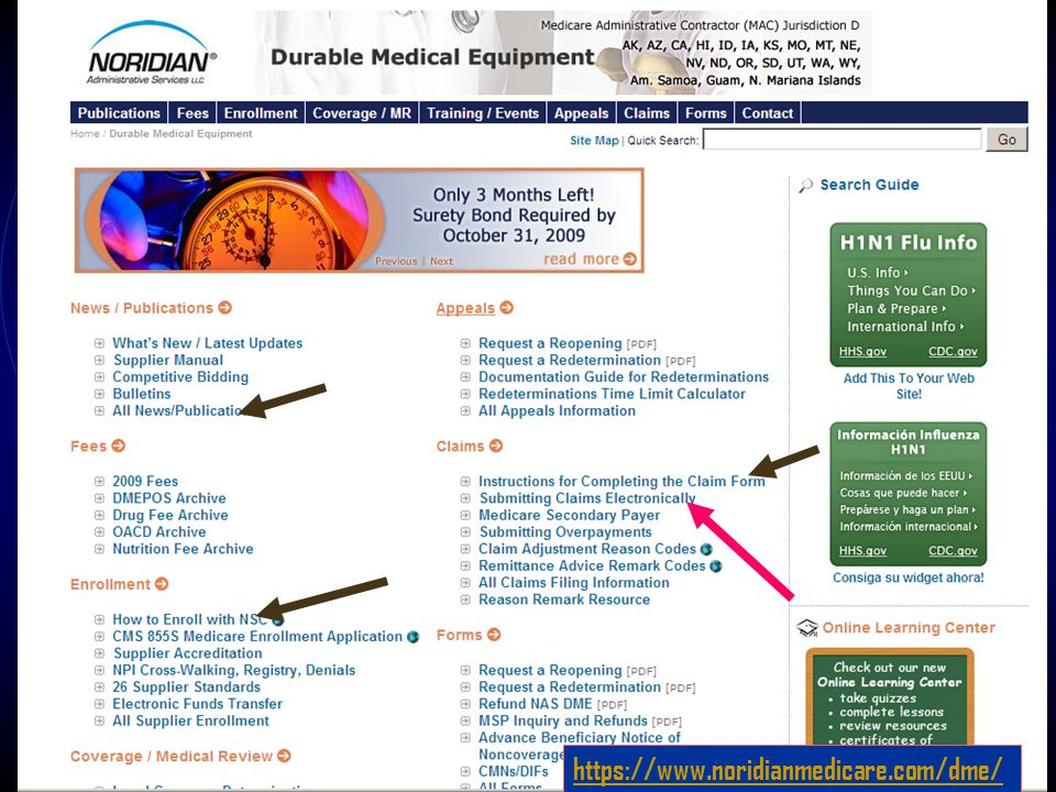 https://www.noridianmedicare.com/dme/