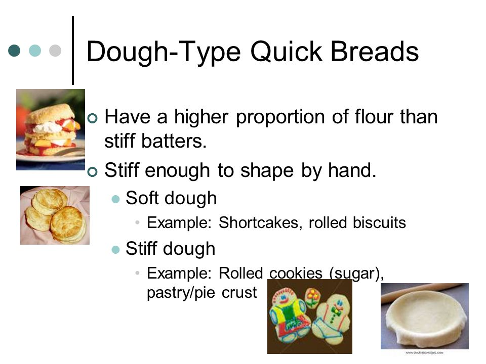 Dough-Type Quick Breads