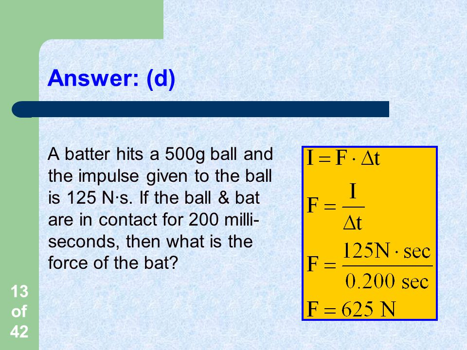 Answer: (d)