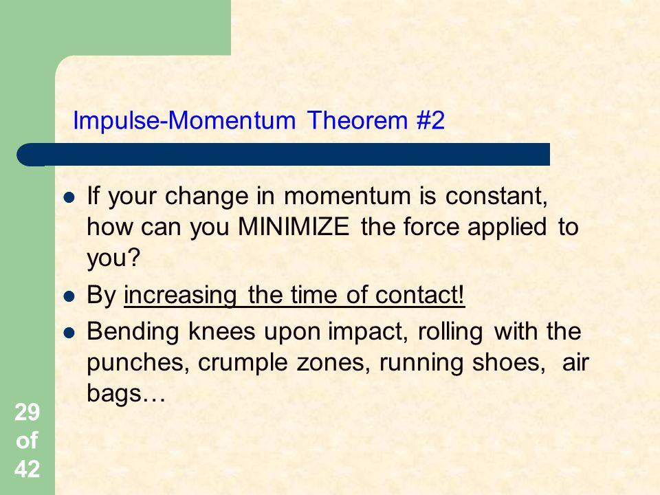 Impulse-Momentum Theorem #2