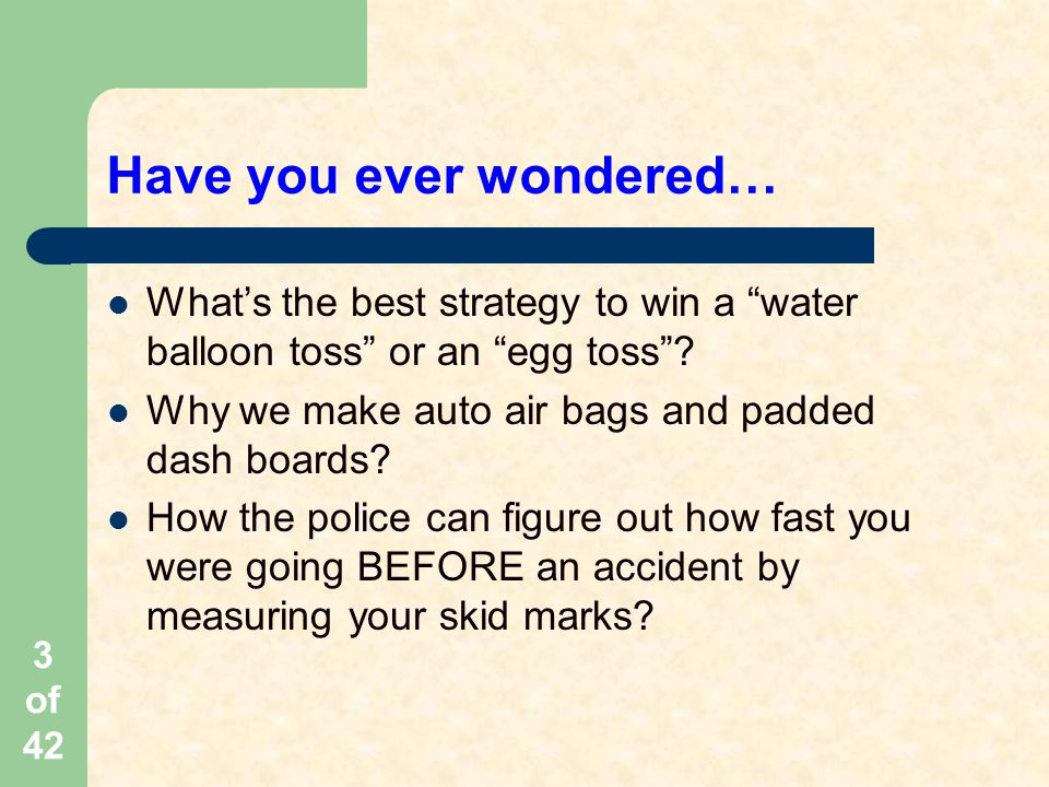 Have you ever wondered…