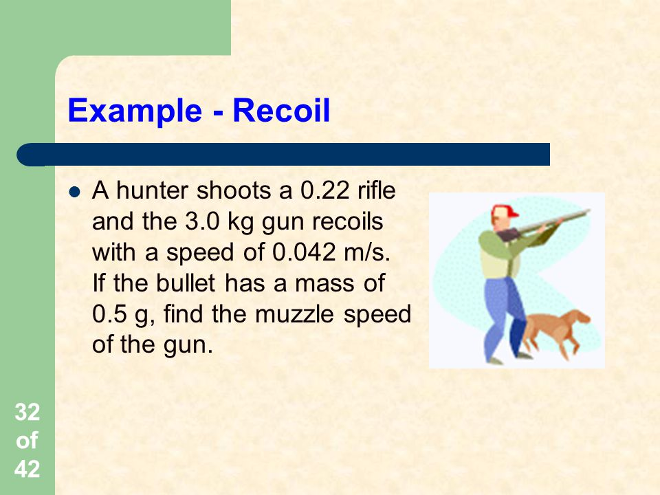 Example - Recoil