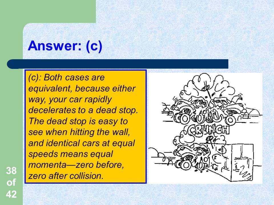 Answer: (c)