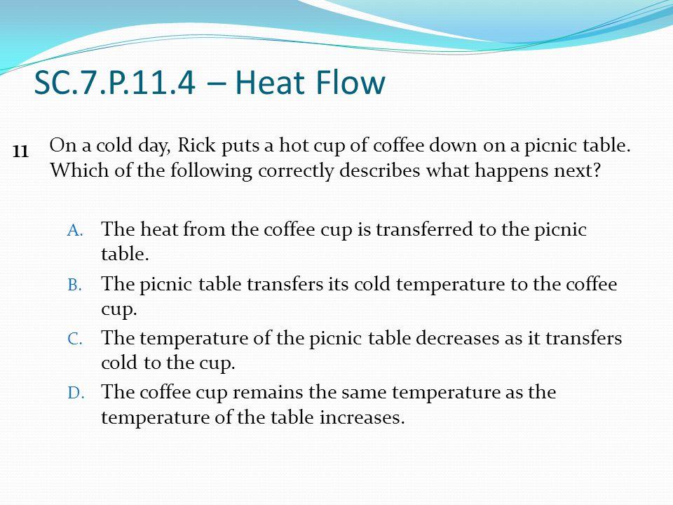 SC.7.P.11.4 – Heat Flow 11.