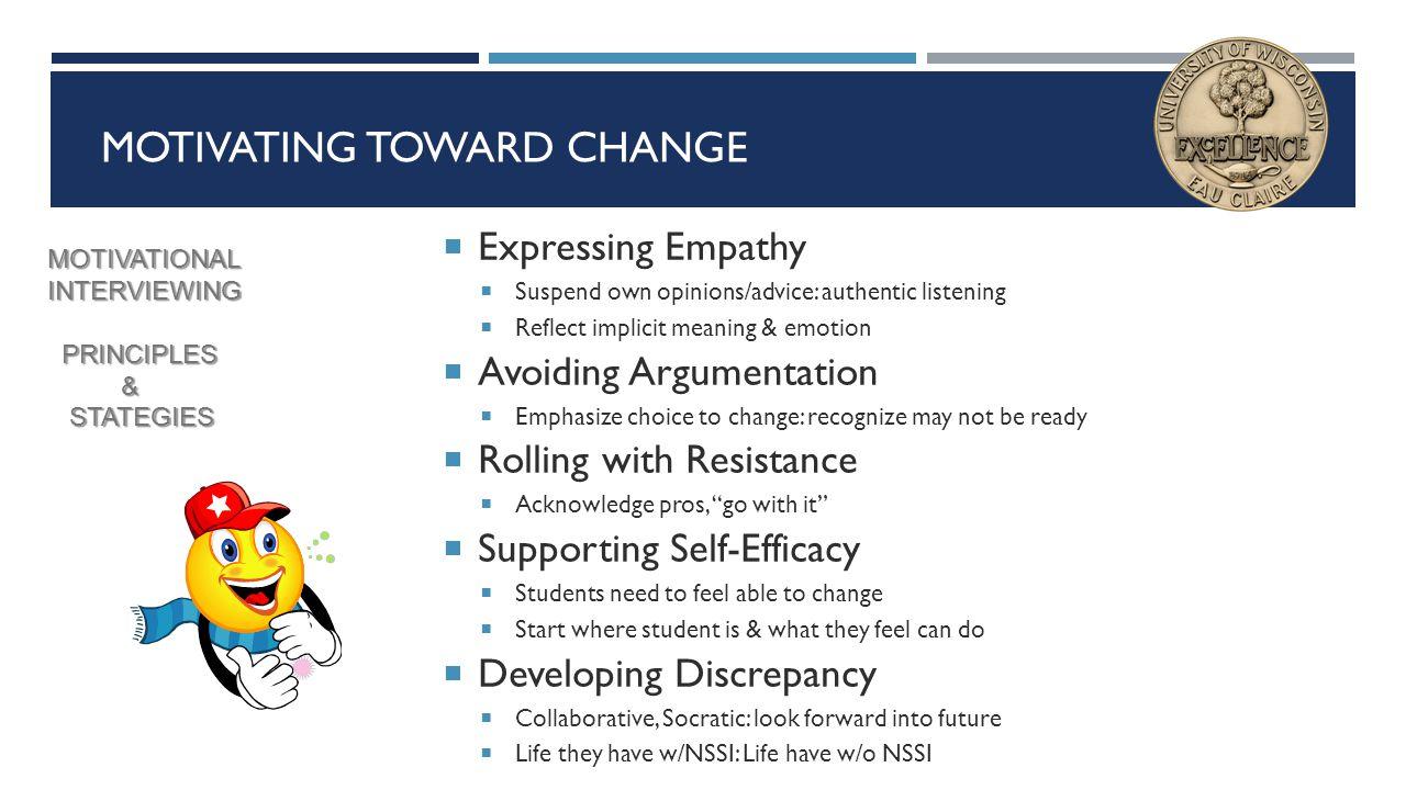 Motivating Toward Change