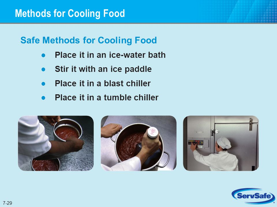 Methods for Cooling Food