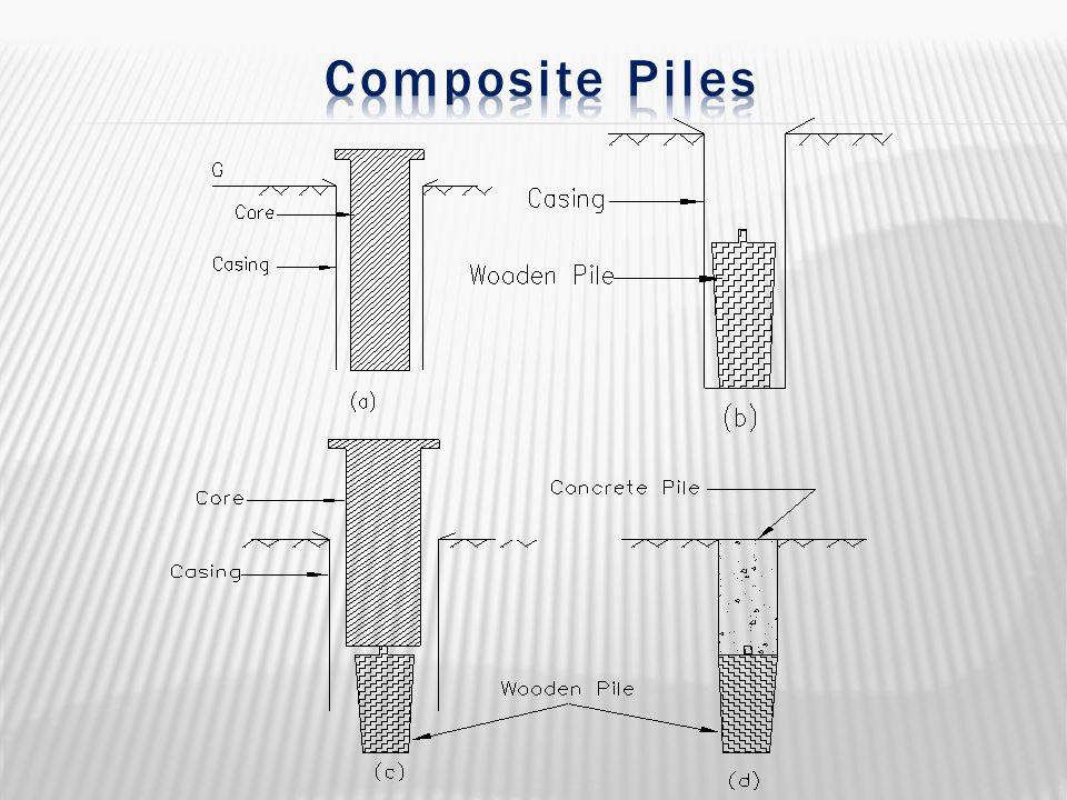 Composite Piles