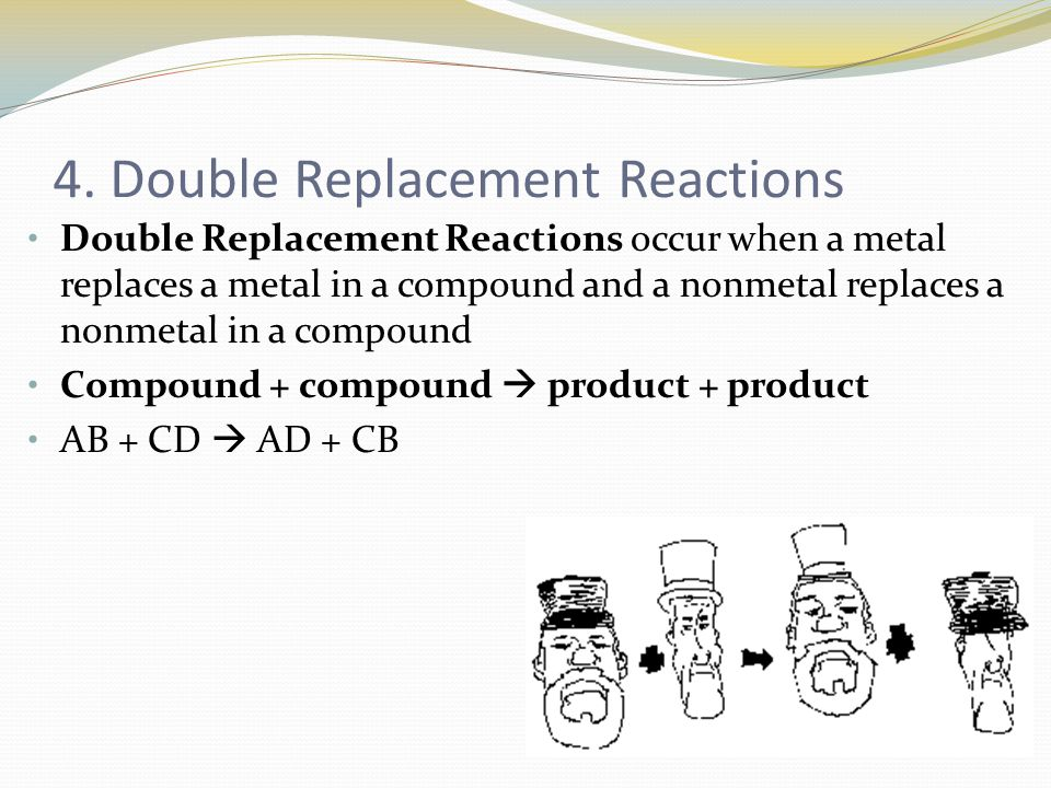 4. Double Replacement Reactions