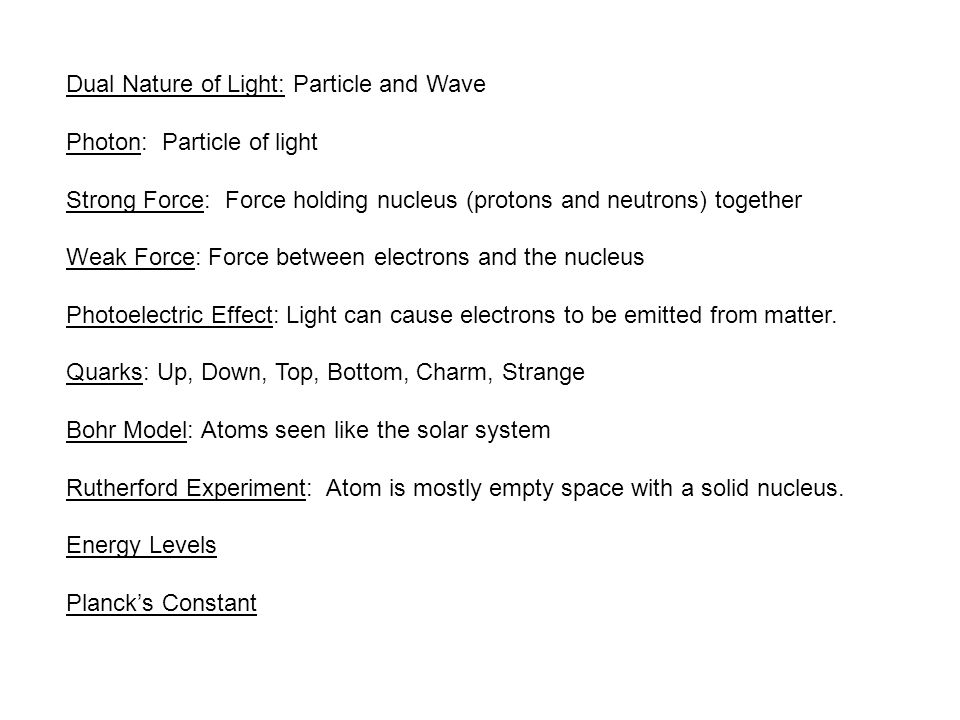 Dual Nature of Light: Particle and Wave