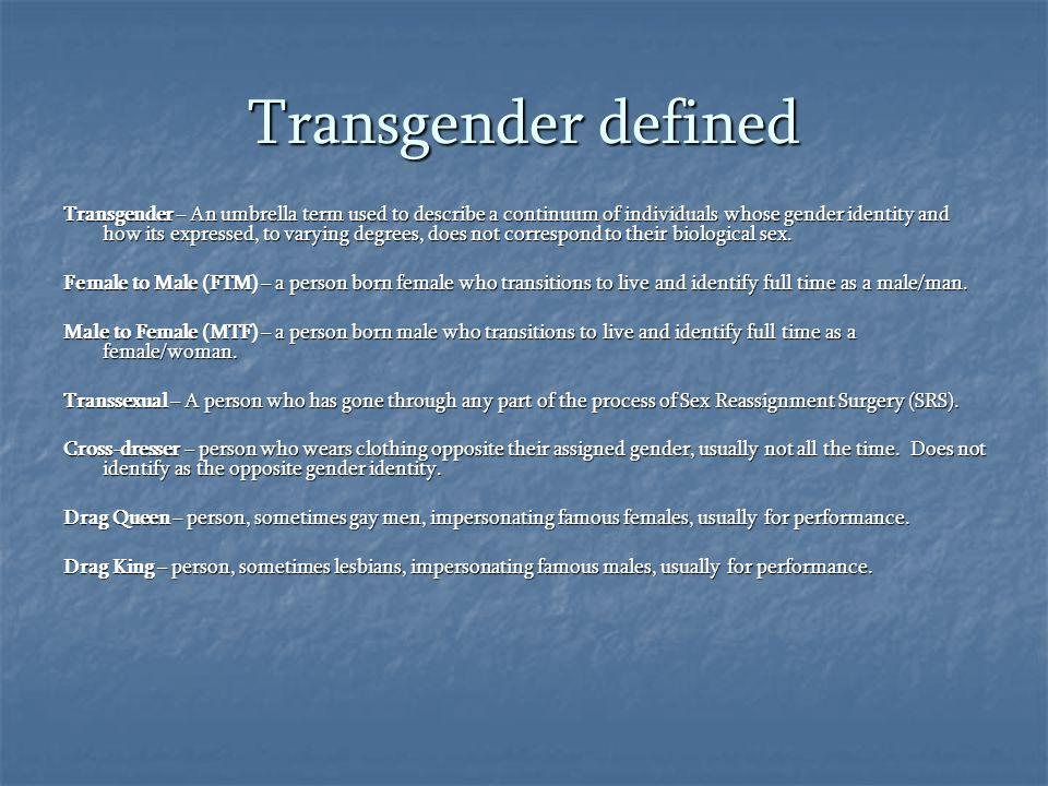 Transgender defined