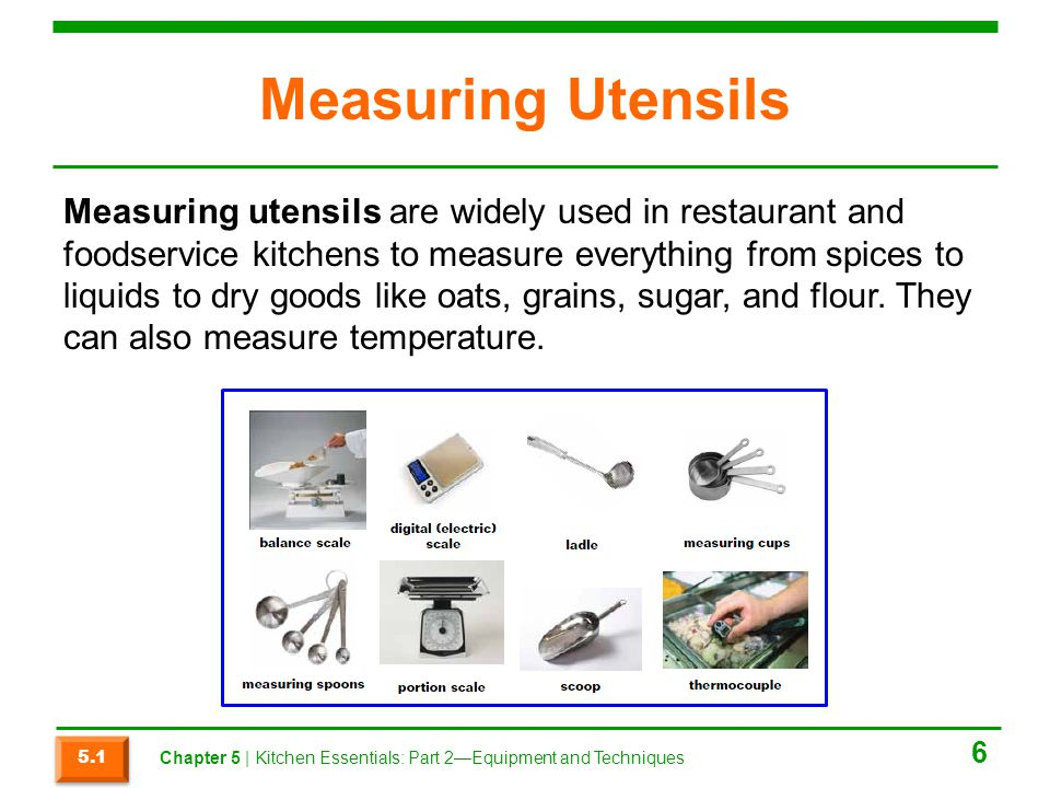 Measuring Utensils