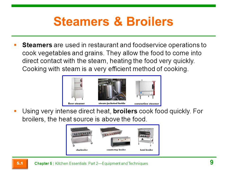 Steamers & Broilers