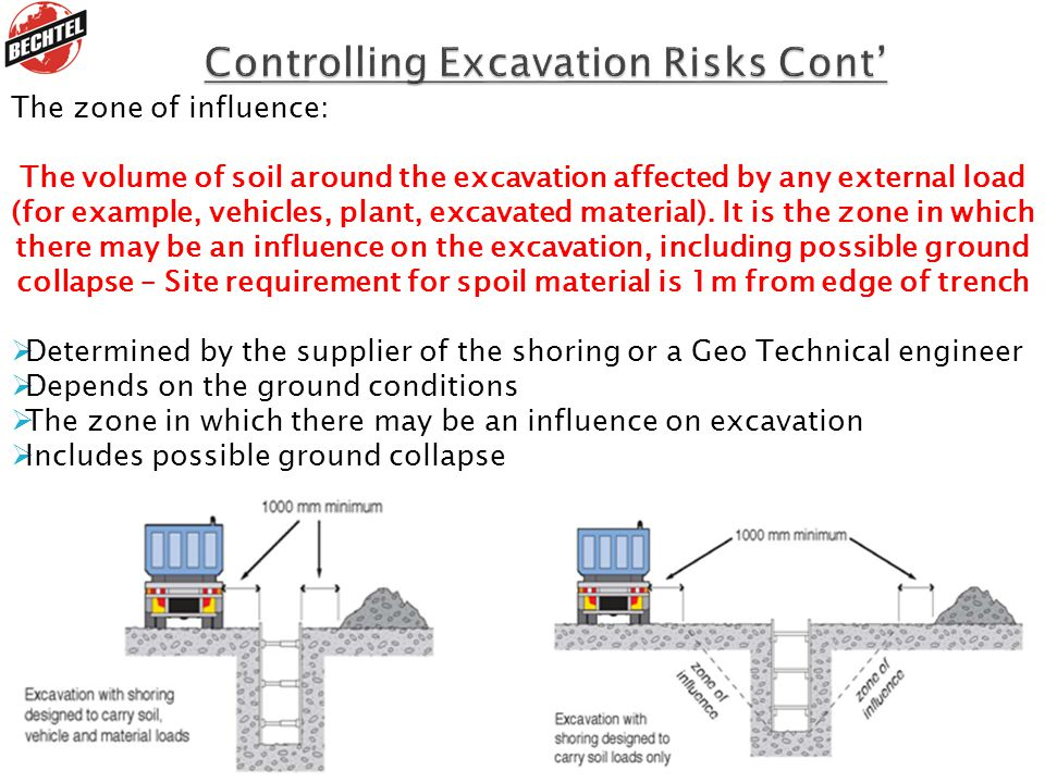 Controlling Excavation Risks Cont'