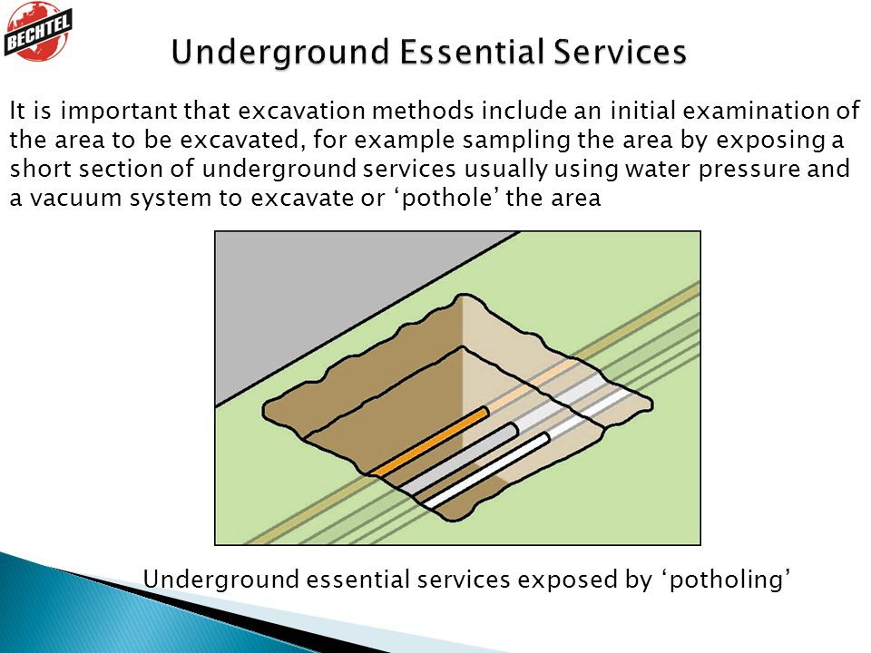 Underground Essential Services