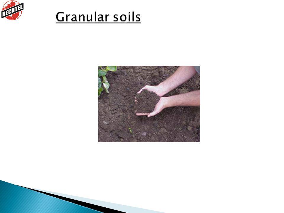 Granular soils