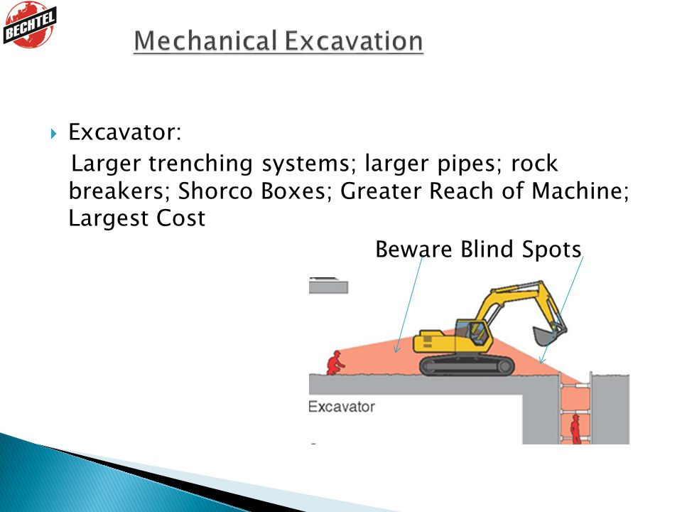 Mechanical Excavation