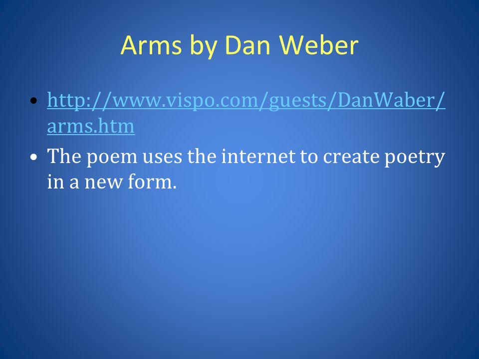 Arms by Dan Weber http://www.vispo.com/guests/DanWaber/arms.htm