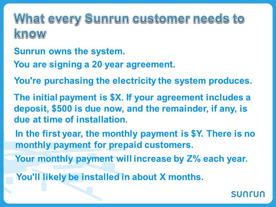 What every Sunrun customer needs to know