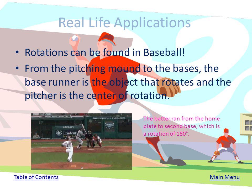 Real Life Applications