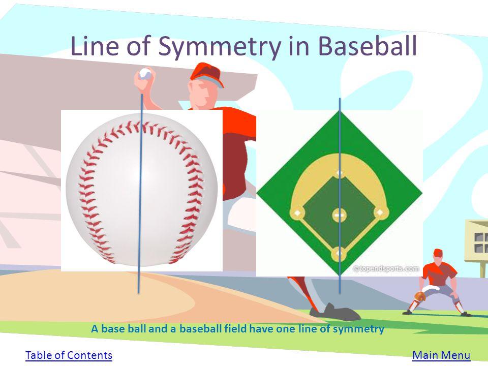 Line of Symmetry in Baseball