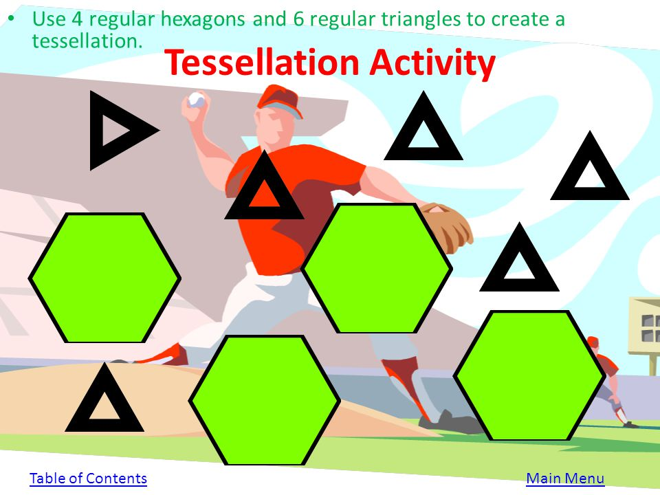 Tessellation Activity
