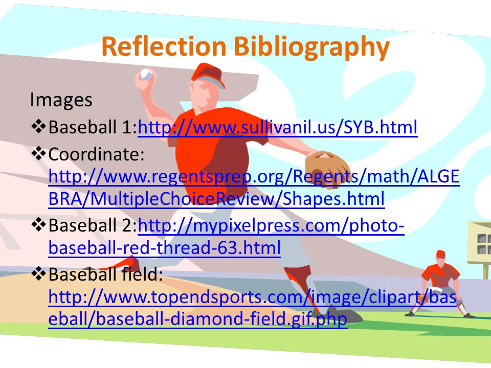 Reflection Bibliography