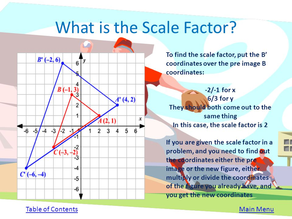 What is the Scale Factor
