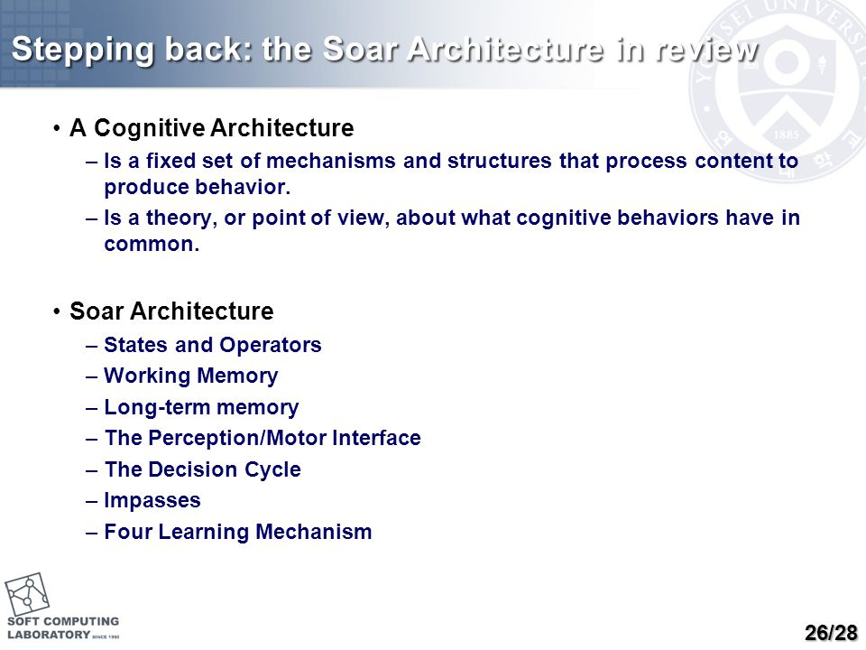 From Architecture to Unified Theories of Cognition