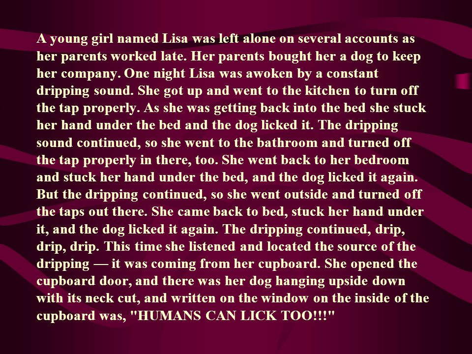 A young girl named Lisa was left alone on several accounts as her parents worked late.