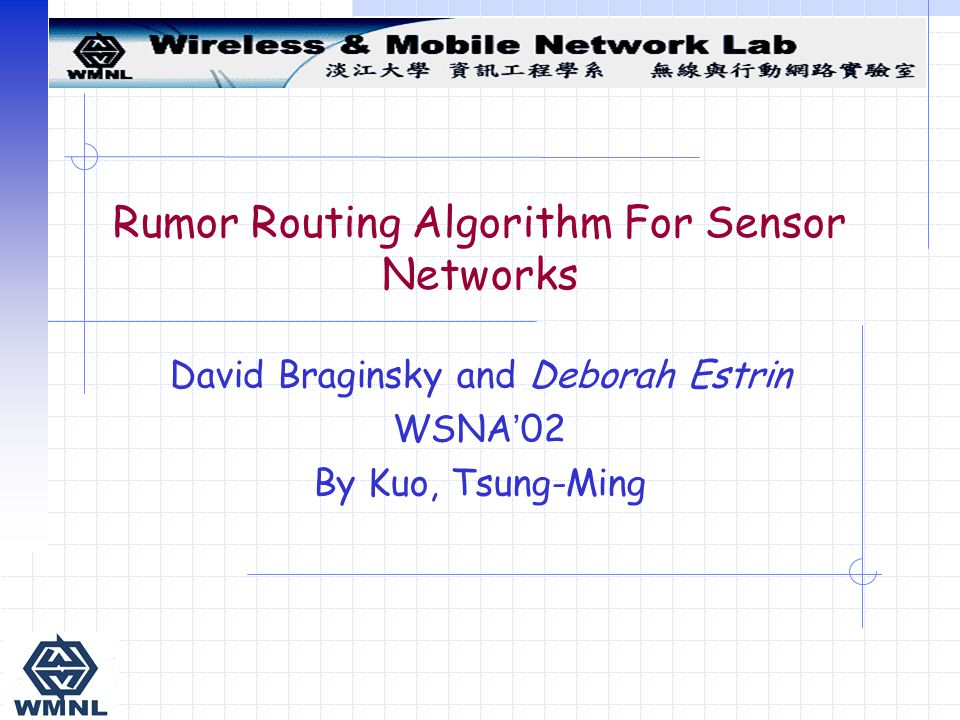 Rumor Routing Algorithm For Sensor Networks