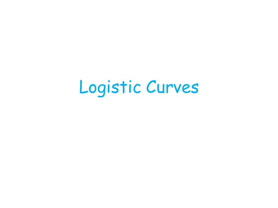 Logistic Curves