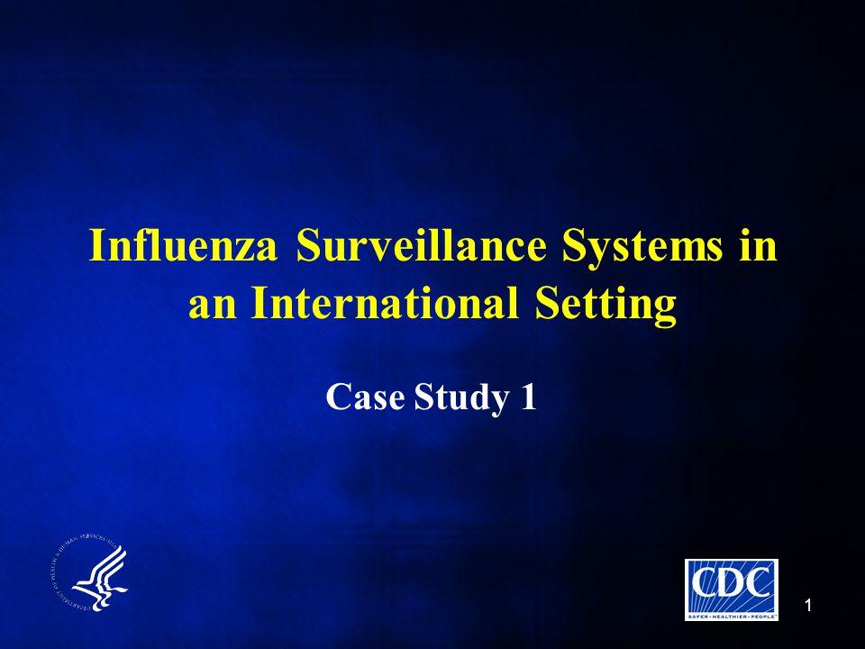 Influenza Surveillance Systems in an International Setting