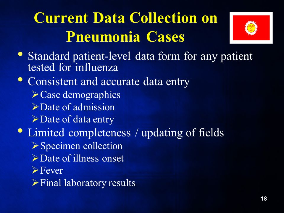 Current Data Collection on Pneumonia Cases