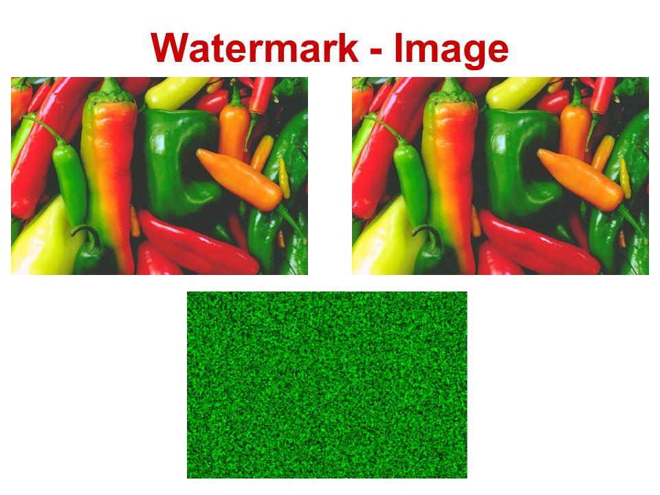 Watermark - Image