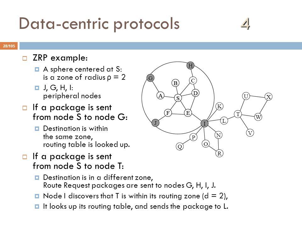 Data-centric protocols 4